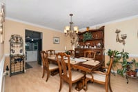 Dining room set table, chairs and China cabinet