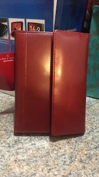 Lord and Taylor red leather planner Farmingdale, 11735