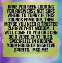 Psychic readings or mini readings