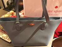 Kate Spade - baby blue leather tote - new  Toronto, M1M 2G3