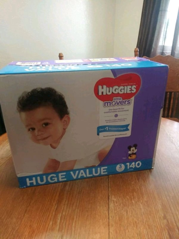 Hugguies little movers size 3 0