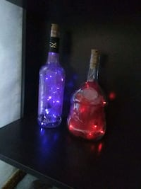 Glass Bottle Fairy Lights - Custom made Edmonton, T5H 4L5