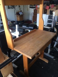 Wooden Garage Desk Las Vegas, 89123