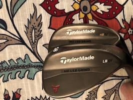 Taylormade Dynamic gold clubs