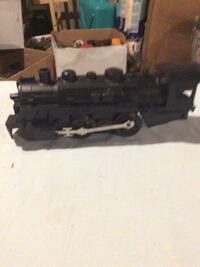 black train toy model engine 027 Fallston, 21047