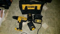 DEWALT cordless hand drill with charger and case Vancouver