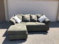Sage green sectional couch Sand City, 93955