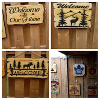 Hand made wood  signs  Mississauga, L5N
