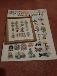 Cross stitch pattern (17 pages) Killeen, 76543
