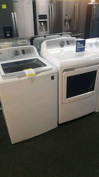 GE top load set washer and dryer brand new  43 mi