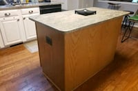 Kktchen island with granite stone.  4 drawers included  Woodbridge, 22192