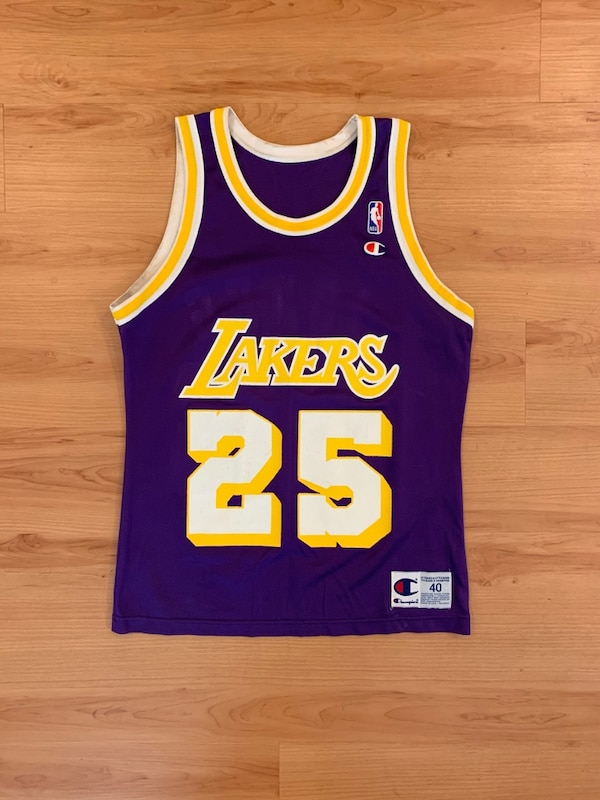 a7f7224ca62 Used Vintage Los Angeles NBA Champion Jersey for sale in Canyon ...