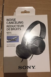 Sony noise cancelling headphones MDR-ZX110NC new condition