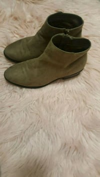 pair of brown suede Chelsea boots Reading