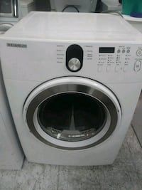 white Samsung front-load clothes washer Indianapolis, 46224