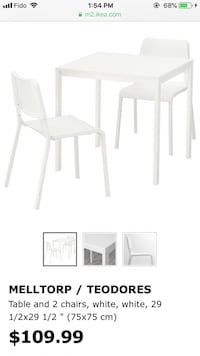 IKEA table and chair set North Vancouver