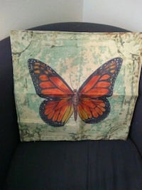 Butterfly Throw Cover Bismarck