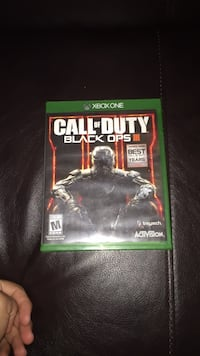 Call of Duty Black Ops 3 Xbox One game case 39 km