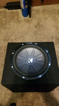One -10 inch Kicker Comp R Subwoofer Broomfield
