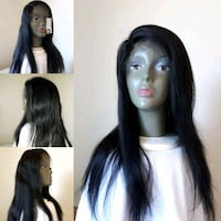 "16"" BRAZILIAN STRAIGHT FRONTAL LACE WIG GRADE 10A  Fort McMurray, T9H 4K1"