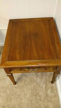 Coffee table with drawer$25 obo Omaha, 68132
