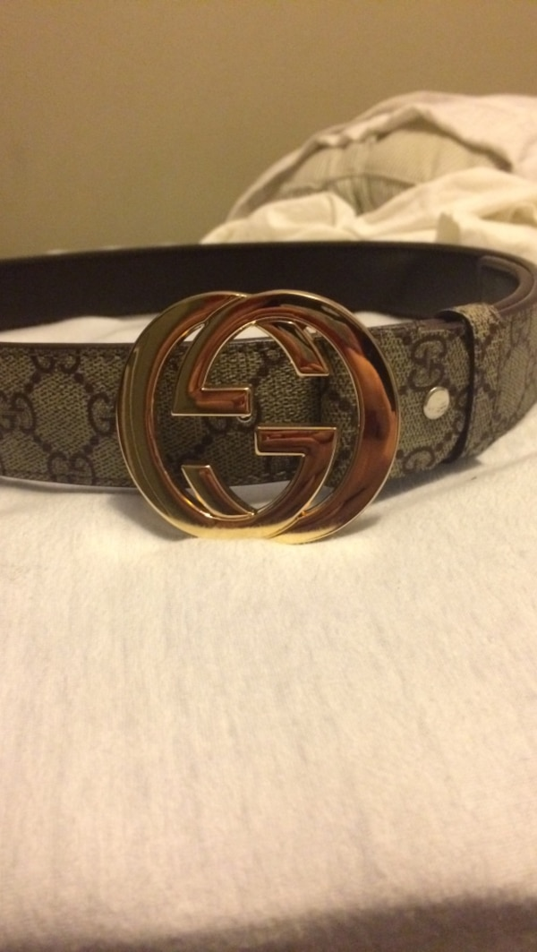 2c8c6fd1b32 Used grey and black silver buckle gucci belt for sale in Philadelphia -  letgo