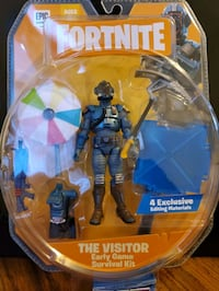 "Fortnite The Visitor Early Game Survival Kit 4"" New Epic Games Jazware"