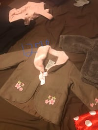 Baby girl jackets/costumes