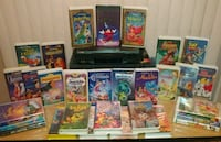 VCR WITH 30 DISNEY MOVIES Porterville, 93257