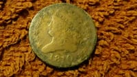 1810 US HALF CENT slightly smaller than a quarter Columbus, 43232