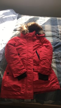 Red and black parka jacket Edmonton, T6W