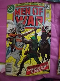 DC Men of War comic book Lewisville, 75067