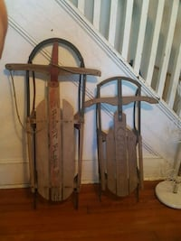 Antique sleds 168 mi