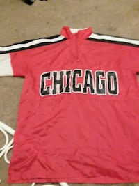 red and white Chicago jersey shirt Myrtle Beach, 29577