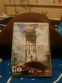 Star Wars Battlefront PS4 game case El Paso, 79936