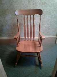 rocking  chair solid hard  wood