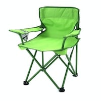 Kid's (Green) folding lawn chair with carrying case Helena