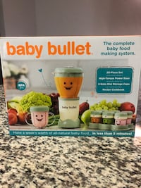 Baby Bullet Complete Baby Food Prep System Los Angeles, 90016
