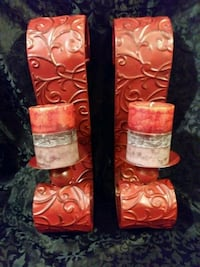 Shabby Chic Rustic Sconces w/Artisan ScentedCandle Fort Worth, 76114