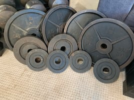 Vintage Hoffman and York weights