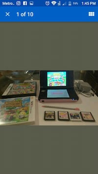 3ds with 6 games and protected case Lilburn, 30047