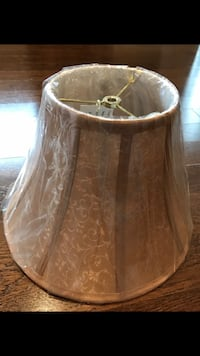 Lamp Shade 2 available in light brown. (Brand New) 537 km