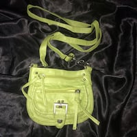 green and black leather handbag St Catharines, L2M 1B5