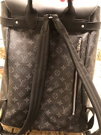 Louis Vuitton monogram Porte organizer and steamer backpack  Quinlan, 75474