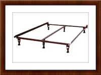 King Bed Frame with Middle Support Brand New Elkridge, 21075