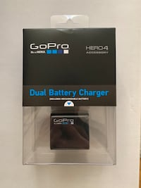 GoPro Battery and Dual charger  hero 4