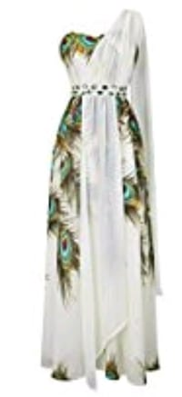 women's white and green floral dress Louisville, 40213