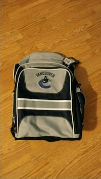 backpack with canucks logo still has the tag on Burnaby, V3N 4Y3