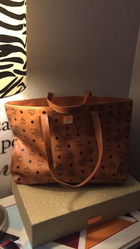 women's brown Louis Vuitton leather tote bag Redwood City, 94062