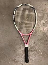 pink and black Wilson tennis racket Toronto, M8V